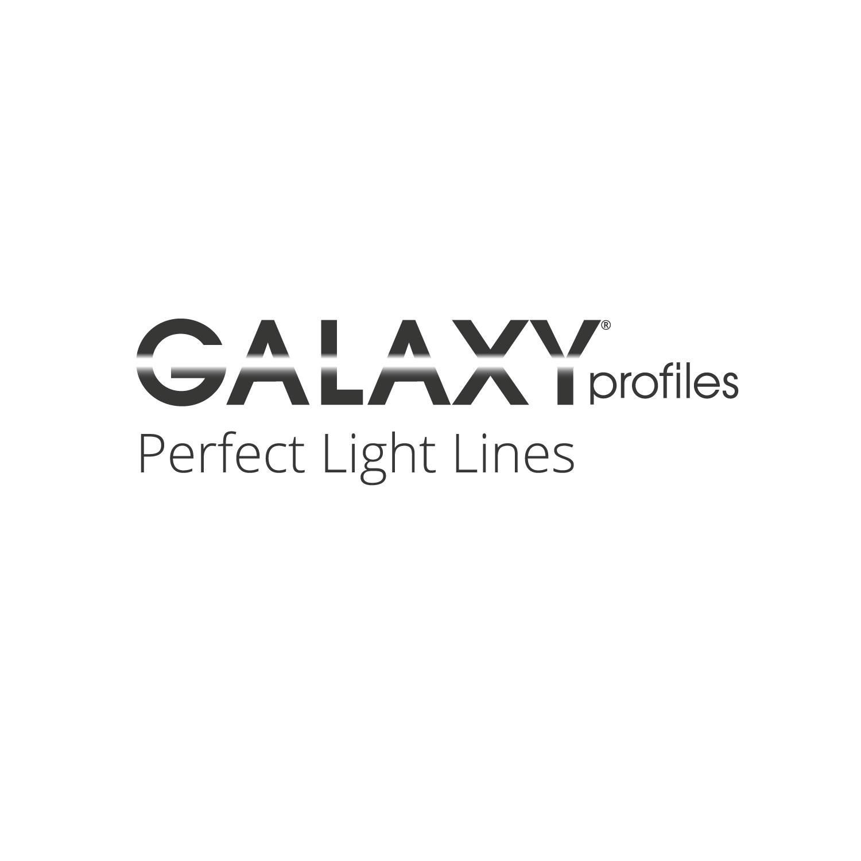 PL13 LEUCHTEN-Profil 200 cm, schwarz eloxiert LED Stripes max. 12 mm ...