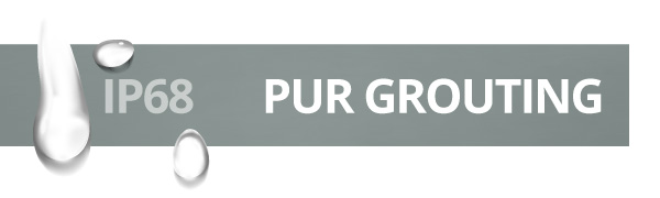 PUR-Grouting - IP68